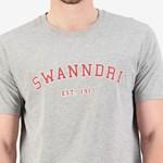 Swanndri Collegiate Grey Tee - grey marle