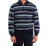 Breakaway Donny French Rib - blue stripe