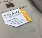 Savane 575 Cotton Trouser - khaki