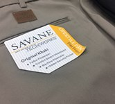Savane 575 Cotton Trouser - olive