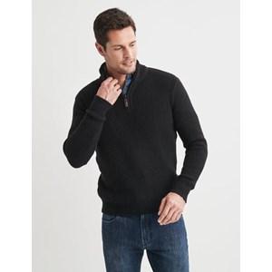 Blazer Oscar Button Neck Pullover