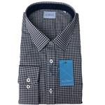 Summit FYH148 Business Shirt - navy check