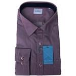Summit FYH151 Business Shirt - wine stripe