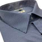 Lichfield Business Shirt 0108 - navy