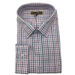 Savile Row 1861-13 Business Shirt - pink check