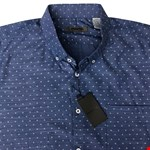 Maurio 2718253 S/S Shirt - blue