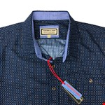 Portobello 5532 S/S Shirt - navy