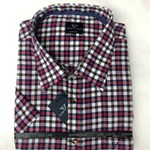 Cotton Valley 14370 S/S Shirt - red check