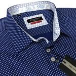 Pureshirt SS18-8 S/S Shirt - navy print