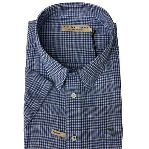 R M Williams Hervey S/S Shirt
