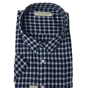 R M Williams Hervey Check S/S Shirt