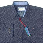 Portobello BB5548 L/S Shirt - navy