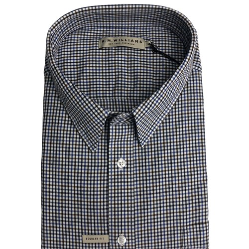 R M Williams Collins L/S Shirt