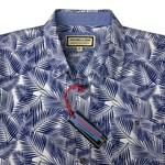 Portobello 5569 S/S Shirt - blue/white