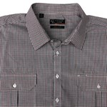 Country Look 18731 L/S Shirt - wine check