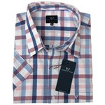 Cotton Valley 14410 S/S Shirt - pink/blue