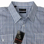 Country Look 12668 S/S Shirt - blue check