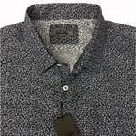 Maurio 2150066 S/S Shirt - navy print