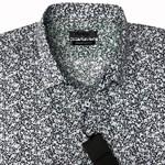 Maurio 2150143 S/S Shirt - blue print