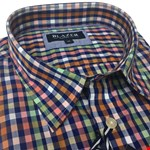Blazer Max S/S Shirt - multi check