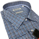 Boston 372712 Business Shirt - blue check