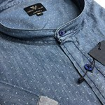 Cotton Valley 14351 S/S Shirt - denim