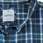 Gloweave 5130 S/S Shirt - blue check