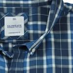 Gloweave 5130 S/S Shirt - blue check