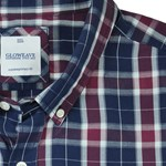 Gloweave 5130 S/S Shirt - burgundy check