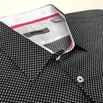 Maurio L/S 271 Shirt - black print
