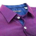 Maurio L/S 910 Shirt - purple