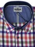 Mish Mash Oakham Shirt - mauve check