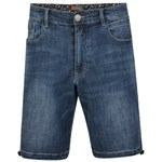 KAM Lorenzo Denim Short - mid wash