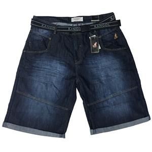 Kangol Punk Denim Shorts
