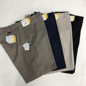 Savane Plain Front Short