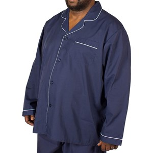 Espionage Plain Long Pajamas