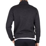 Blazer Heather 1/2 Zip Pullover - charcoal