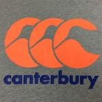 Canterbury CCC Logo Tee - grey marle