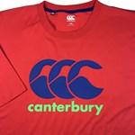 Canterbury CCC Logo Tee - red