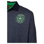 Canterbury Convention Rugby Polo - charcoal marle
