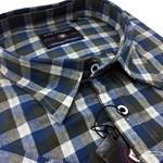 KAM 6130 S/S Shirt - charcoal