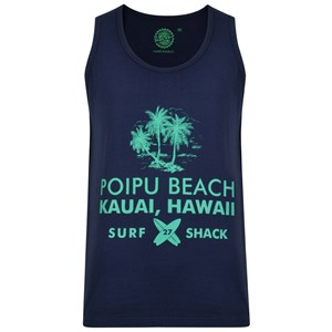 KAM Navy Hawaii Singlet