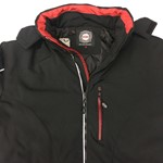 KAM Soft Shell Padded Jacket - black