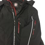 KAM Soft Shell Padded Jacket - black