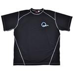Ocean Motion Rash Tee 8305 - black