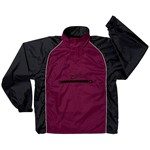 JacPac Jacket - black/maroon